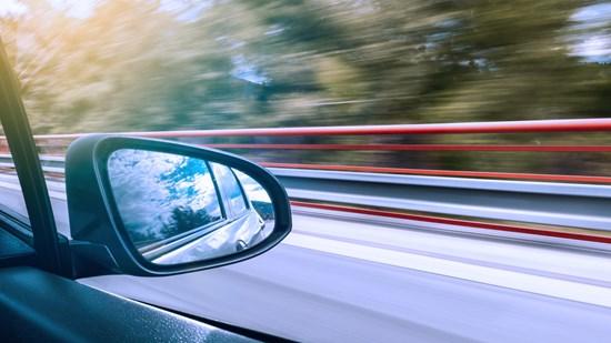 På vilka typer av vägar är risken störst att dödas eller skadas svårt?